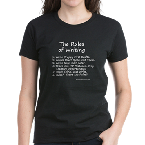 The Rules of Writing tshirt