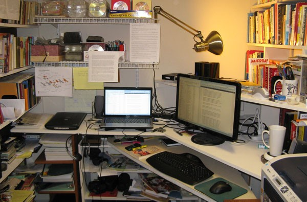 Image of my Writing Area